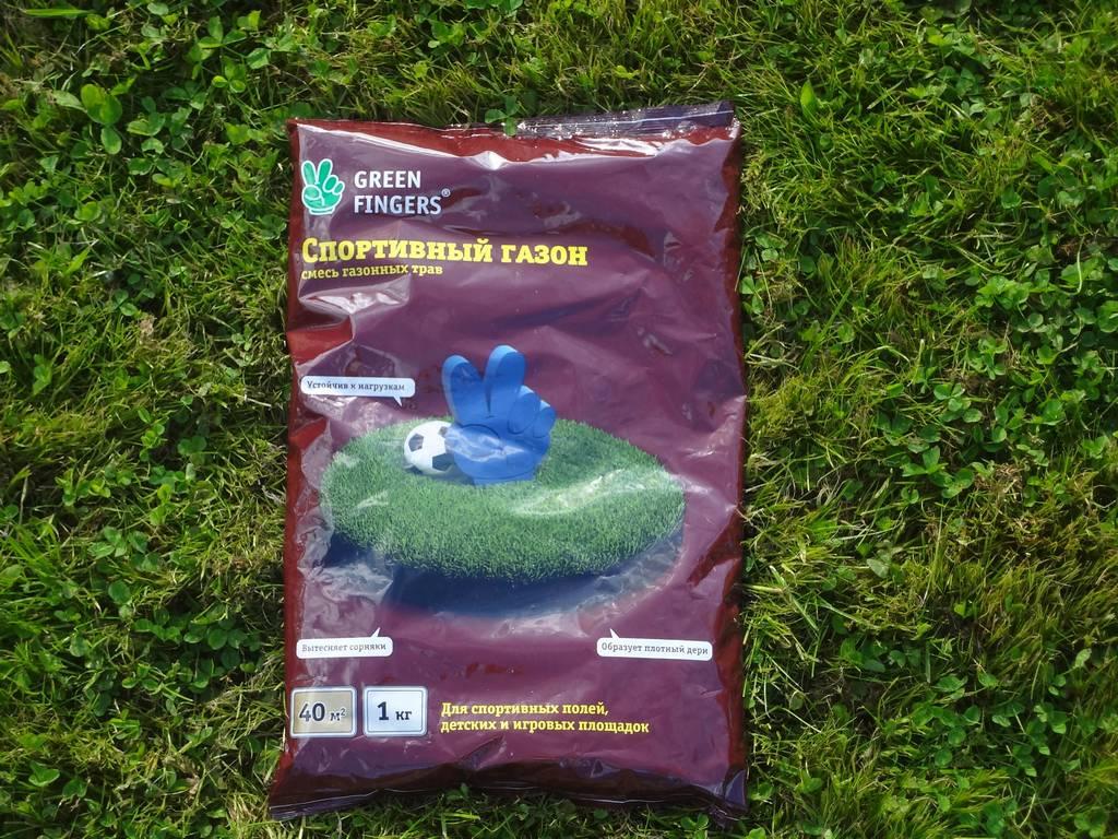 Газонная травосмесь СПОРТИВНЫЙ GREEN FINGERS купить в Нижнем Новгороде