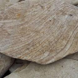 Плитняк ПЕСЧАНЫЙ БАРХАН из песчаника галтованный купить
